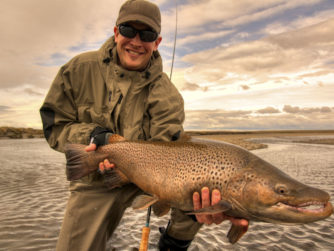 Biggest Sea-Run Brown trouts in the world