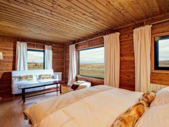 Our bedroom - Kau Tapen Lodge Tierra del Fuego, Argentina